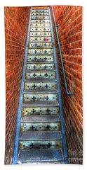 Hidden Stairway In Old Bisbee Arizona Bath Towel