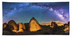 Hidden Valley Milky Way Hand Towel by Robert Loe