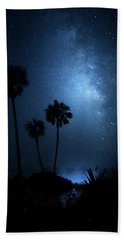 Hand Towel featuring the photograph Hidden Worlds by Mark Andrew Thomas