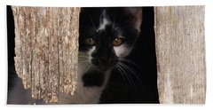Hand Towel featuring the photograph Hide And Seek by J L Zarek