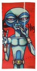 High Alien Hand Towel