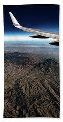 High Desert From High Above Hand Towel