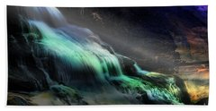 High Falls Sunset Bath Towel