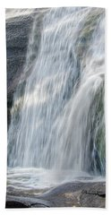Bath Towel featuring the photograph High Falls Three by Steven Richardson