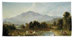 High Point  Shandaken Mountains, 1853 Hand Towel