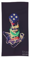 High Roller Luck Hand Towel