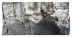 High Water Mark Rock Art By Kaylyn Franks Bath Towel