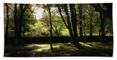 Bath Towel featuring the photograph Highland Forest by Mary-Lee Sanders