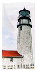 Bath Towel featuring the photograph Highland Lighthouse Cape Cod by Marianne Campolongo