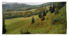 Highlands Landscape In Pieniny Hand Towel