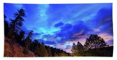 Bath Towel featuring the photograph Highway 7 To Heaven by James BO Insogna