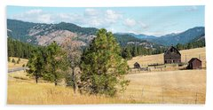 Highway 97 Ranch Memories Bath Towel
