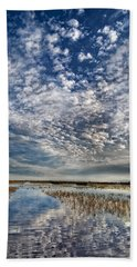 Highway In The Clouds Bath Towel