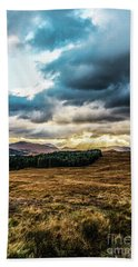 Higlands Wonders Hand Towel by Anthony Baatz