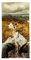 Hiking The Mount Sprent Trail Bath Towel