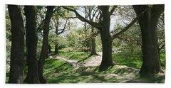 Hill 60 Cratered Landscape Bath Towel