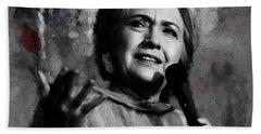 Hillary Clinton  Hand Towel by Gull G