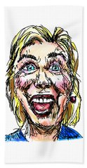 Hillary Hand Towel by Robert Yaeger