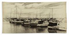 Hillarys Boat Harbour, Western Australia Bath Towel