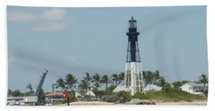 Hand Towel featuring the photograph Hillsborough Light by Donna Walsh