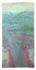 Hillside Bath Towel by Karen Nicholson