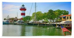 Hilton Head Harbor Sc Bath Towel