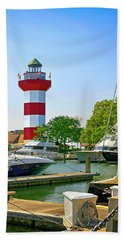Hilton Head Lighthouse Sc Bath Towel