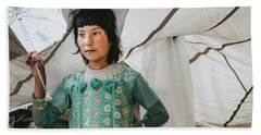 Himalayan Girl Hand Towel
