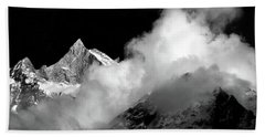 Himalayan Mountain Peak Bath Towel