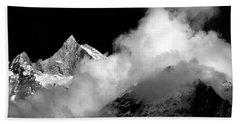 Himalayan Mountain Peak Bath Towel