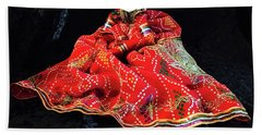 Hindu Hand Crafted Doll Hand Towel