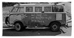 Hippie Van, San Francisco 1970's Bath Towel