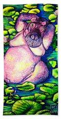 Hippo Hand Towel