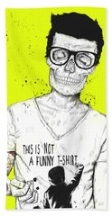 Hipsters Not Dead Hand Towel