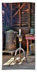 Historic Barn Workshop Bath Towel