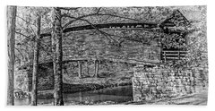 Bath Towel featuring the photograph Historic Bridge by James Woody