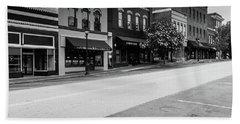 Historic Buford Downtown Area Bath Towel