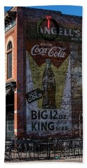 Historic Coca Cola Brick Ad - Fort Collins - Colorado Hand Towel by Gary Whitton