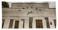 Historic Gruene Hall Bath Towel