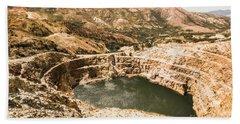 Historic Iron Ore Mine Hand Towel