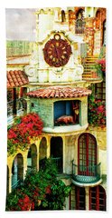 Historic Mission Inn Clock Hand Towel