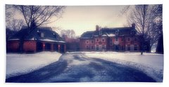 Bath Towel featuring the photograph Historic Neenah Home by Joel Witmeyer