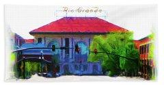 Historic Rio Grande Station Bath Towel