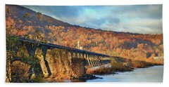 Historic Rockville Bridge Bath Towel