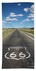 Historica Us Route 66 Arizona Hand Towel