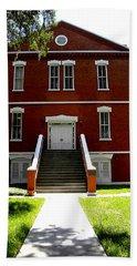 Historical Landmark Osceola County Court House Hand Towel by Chris Mercer