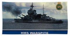 Hms Warspite Hand Towel