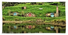 Hobbit By The Lake Hand Towel