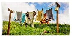 Hobbit Clothesline Bath Towel