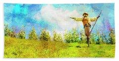 Hobbit Scarecrow Hand Towel